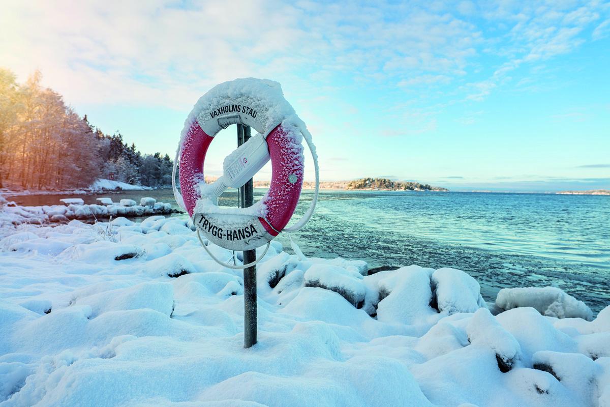 Vinter på Rindö