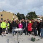 Symboliskt startskott för fler bostäder i Gråbo