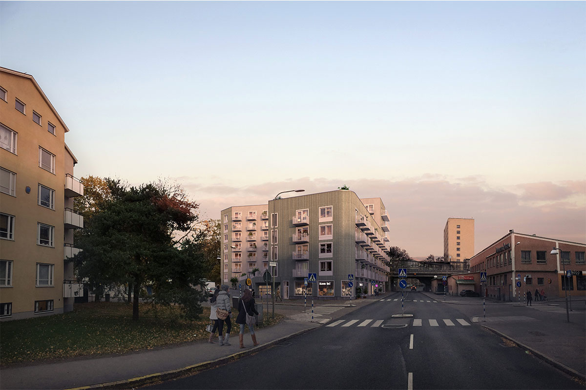 Bandhagen Centrum - Wallenstam