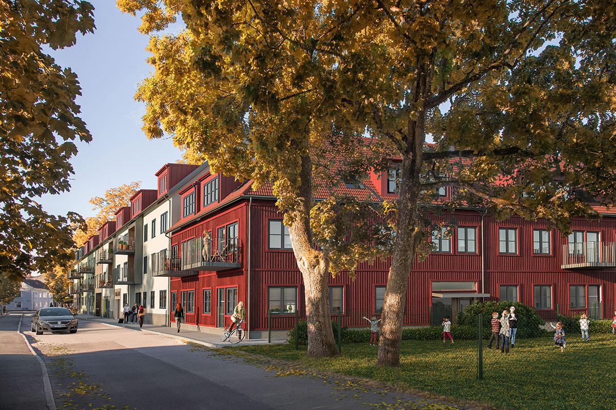 Kvarteret Prästlyckan Alingsås